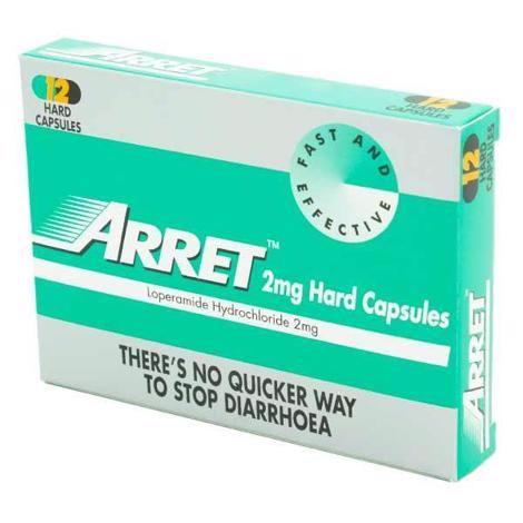 a box of Arret 2mg Hard Capsules