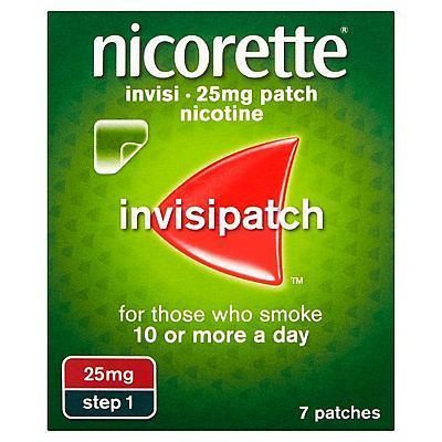 Nicorette Invisi 25mg/16h Trans Patch 14