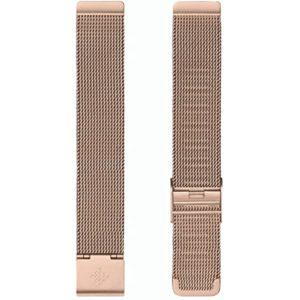 Fitbit Inspire 2 Metal Mesh Rose Gold