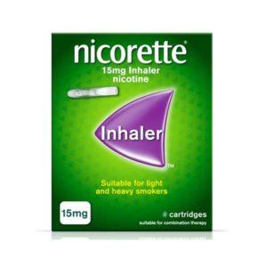 Nicorette Inhaler 15mg Refill Inhaler 20 Cartridges
