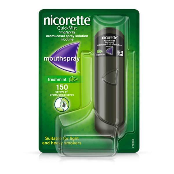 Nicorette Quickmist 1mg Spray 150D